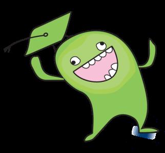Green Gradeable Monster