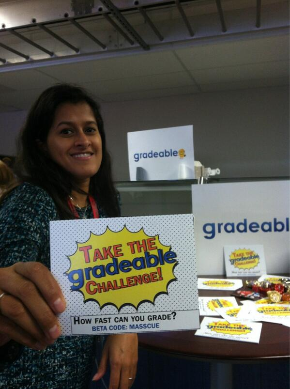 "Parul says, ""Take the Gradeable Challenge!"""