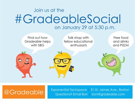 gradeable social invite