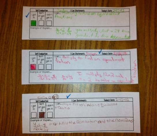 exit ticket example