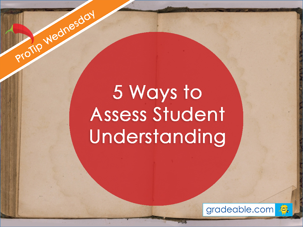 how to assess student learning