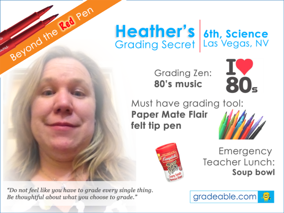science teacher grading tips heather
