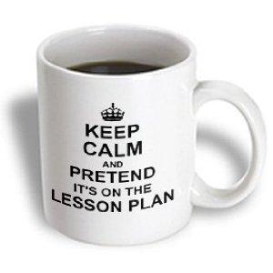 keep calm lesson plan teacher funny