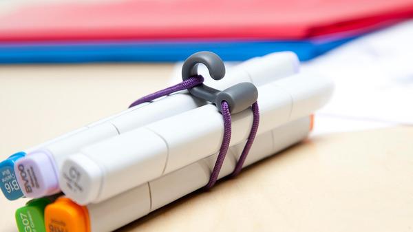 teacher gift  rubberband