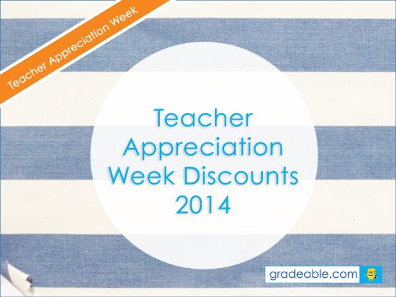 teacher appreciation deals