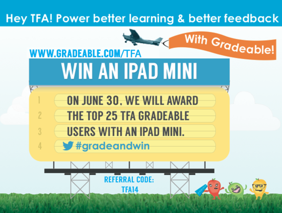 teach for america ipad contest